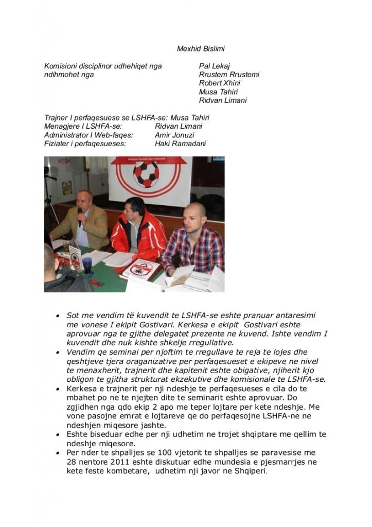 Kuvendi zgjedhorë 2012 foto 2