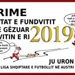 URIME FESTAT E FUNDVITIT - URIME VITIN E RI 2019